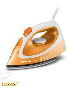 Panasonic steam iron - 1550 Watt - Orange - NI-P250T model