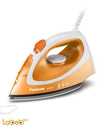 مكوى بخار باناسونيك 1550 واط برتقالي موديل NI-P250T
