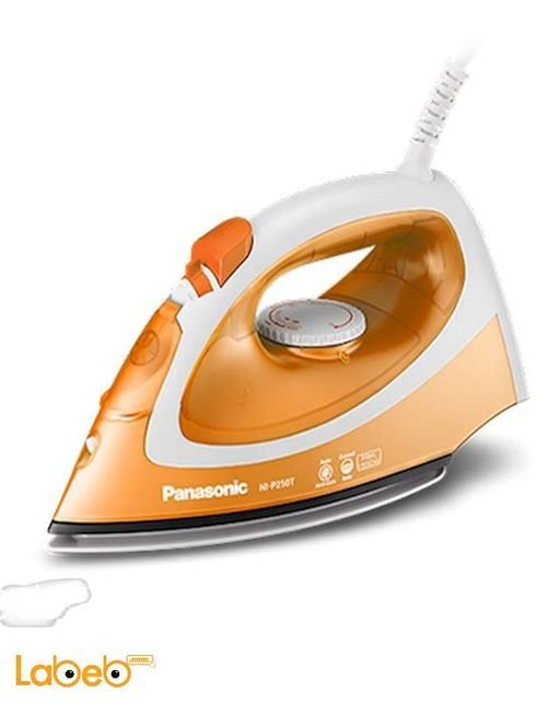Panasonic steam iron 1550 Watt Orange NI-P250T model