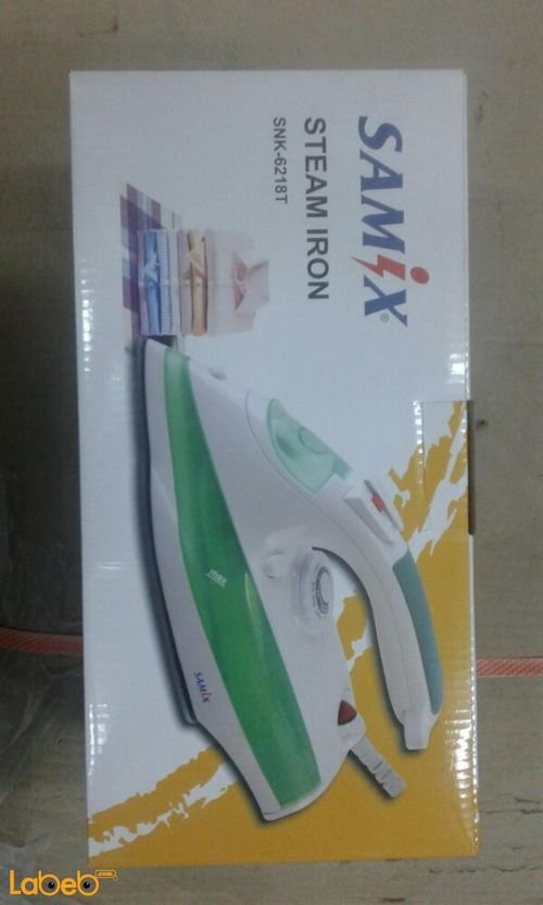 Samix steam iron 2200Watt Green&White SNK-6218T