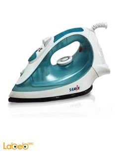 Samix steam iron - 2200 Watt - Green & White - SNK-6218T