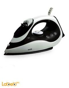 Sona steam spray dry iron - 2000W - black & white - Si-7110-BK