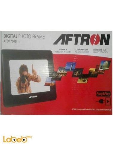 إطار الصورة الرقمية Aftron - شاشة 7 انش - موديل AFDP7000