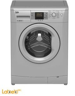 Beko washing machine - 7Kg - 1000Rpm - silver - WMY 71033