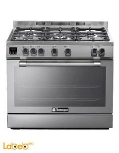 Tecnogas Oven - 118L - 5 Burners - Stainless Steel - N2X96G5VC