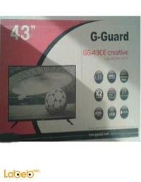 شاشة G-Guard led حجم 43 انش GG-43 CE