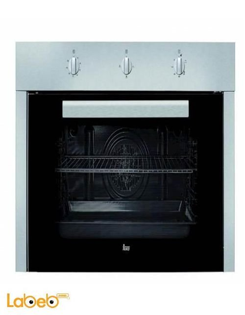 Teka gas built in oven 90 cm size Silver HGS 930 model