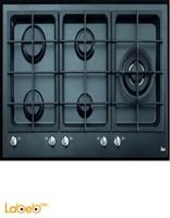 Teka gas hob 90 cm black color EW 90 5G AI AL TR CI model