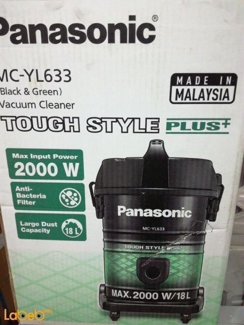 مكنسة كهربائية باناسونيك 2000 واط 18 لتر MC_YL633