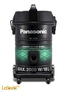 Panasonic vacuum cleaner - 2000Watt - 18L - MC-YL633 model