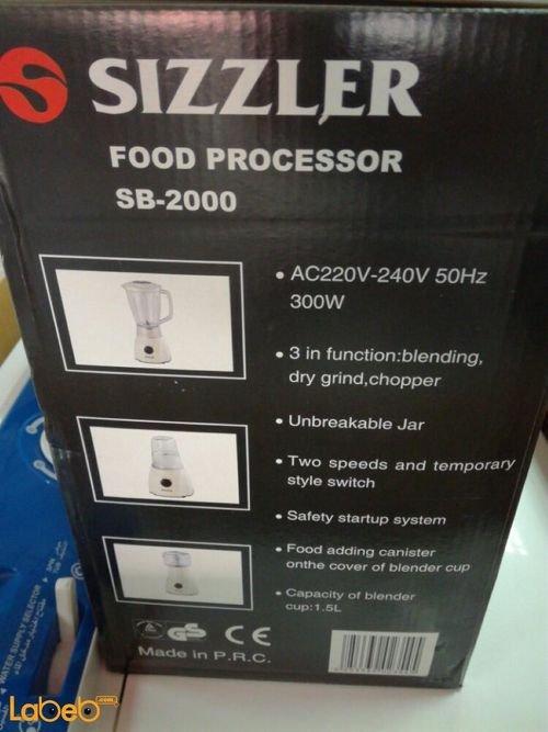 مواصفات خلاط سيزلير موديل SB-2000