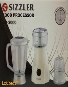 Sizzler food processor - 300Watt - 1.5 L - SB-2000 model