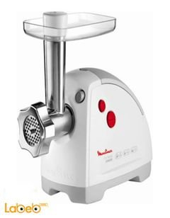 Moulinex Meat Mincer - 1600W - White color - HV8 model