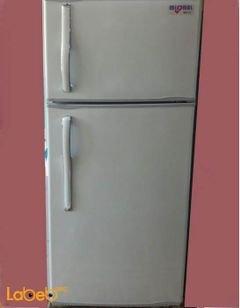 ثلاجة بفريزر علوي ميسترال - 407 لتر - لون ابيض - موديل NFR 40