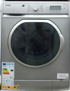 Vestel washing machine - 7KG - 1200rpm - silver - Aramides 1070 sl