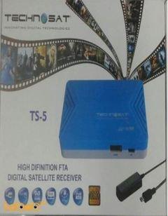 رسيفر تكنو سات - فل اتش دي - 5000 قناة - موديل TS-5