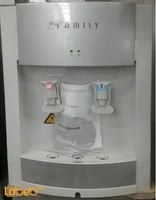 Family water cooler 2 taps 3L tank silver WBF-1000S