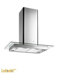 TEKA Glass wing chimney hood - 1200m³/h - Stainless - DG2 ISLAND