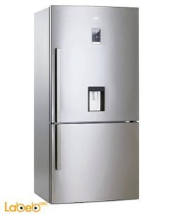 Beko Refrigerator Bottom Freezer - 521L - Stainless - CN161230Dx