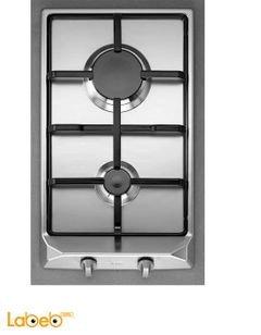 طباخ غاز تيكا - قياس 30 سم - ستانليس ستيل - EM 30 2G AI AL