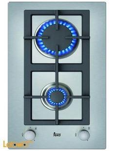 طباخ غاز تيكا - قياس 30 سم - ستانليس ستيل - EFX 30 2G AI AL CI