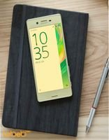 Sony Xperia X smartphone Lime Gold F5122