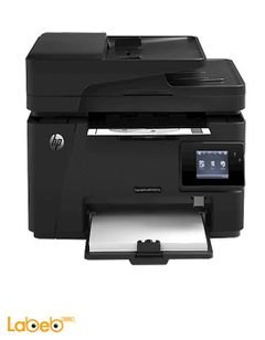 HP LaserJet Pro Multifunction Printer - Black color - M127fw‎