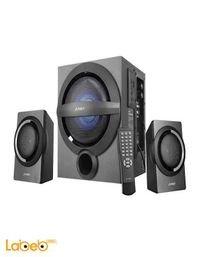سماعات ومكبر صوت 2.1 F&D قدرة 37 واط موديل A140F