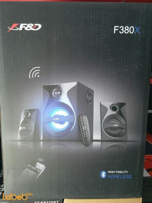 F&D 2.1 computer multimedia Speaker F380x