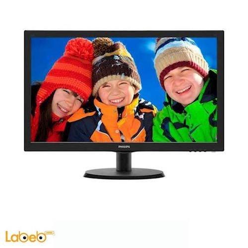 شاشة LCD للكمبيوتر فيلبس 21.5 انش لون اسود موديل 223V5L