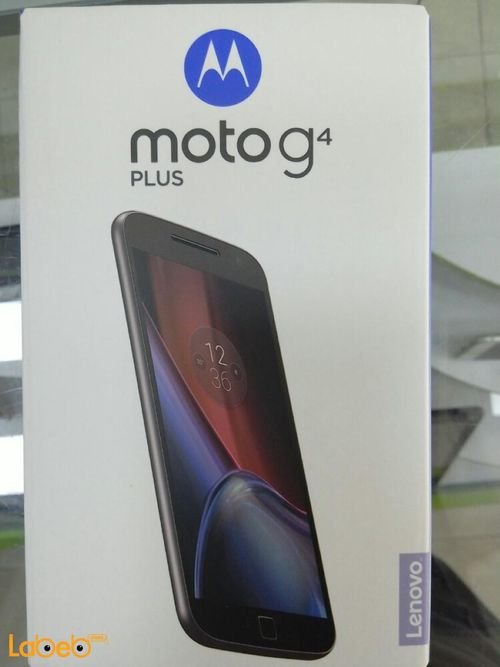 Black Motorola moto G4 plus smartphone 16GB