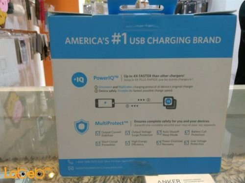 Anker Portable charger for phones & tablets 5200mAh USB port