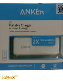 Anker Portable charger for phones & tablets - 5200mAh - USB