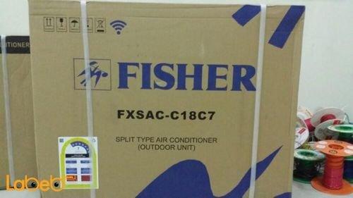 مكيف سبليت فيشر موديل FXSAC-C18C7 سعة 1.5 طن