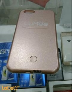 Lumee lighting back cover mobile - for iPhone 6plus - Pink color