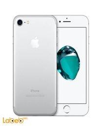 موبايل ايفون 7 ابل 128 جيجابايت 4.7 انش لون فضي - iPhone 7
