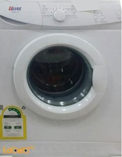 Ugine Front Load Washing Machine - 7Kg - White - UGFL70 model