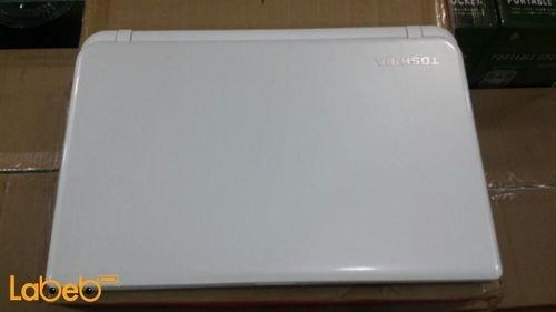 لاب توب توشيبا ستالايت كور i3 رام 4GB ابيض موديل C55-B1066