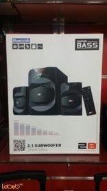 سماعات ومكبر صوت Super bass قدرة 40 واط اسود موديل SP835