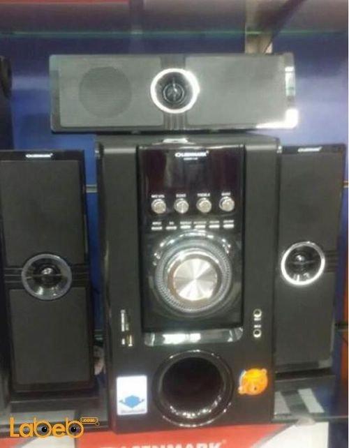 مكبر صوت وسماعة 3.1 اولسين مارك لون أسود OMMS11148