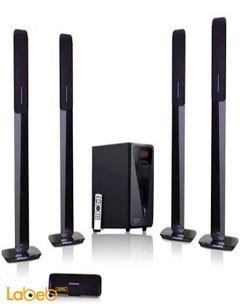 eurostar 5.1ch speaker system - 40+5x15W - Black - EHT850-F15