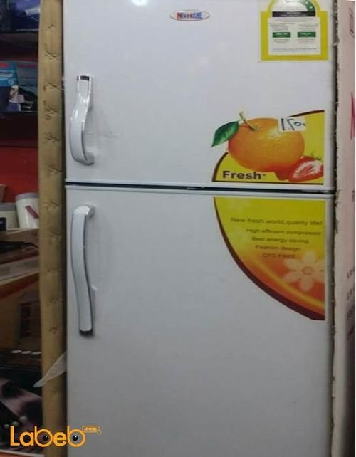New house Refrigerator top freezer 10cft White R711-NWH270