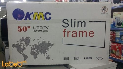 KMC LED TV 50inch size 1080x1920p K16M50260