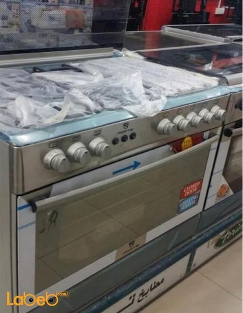 Forte Oven 90x60 cm 5 Burners Stainless Steel F9603SGGFS