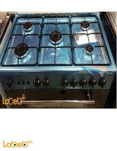 FIREGAZ Oven - 5 Burners - 50x80cm - Stainless Steel - BAB8XNEW