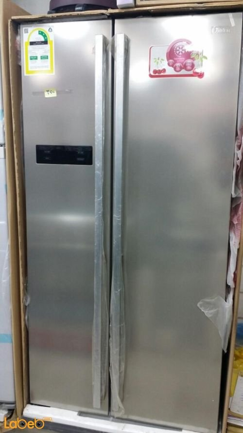 Midea Side by Side Refrigerator HC-689WE(N)S 537L Stainless