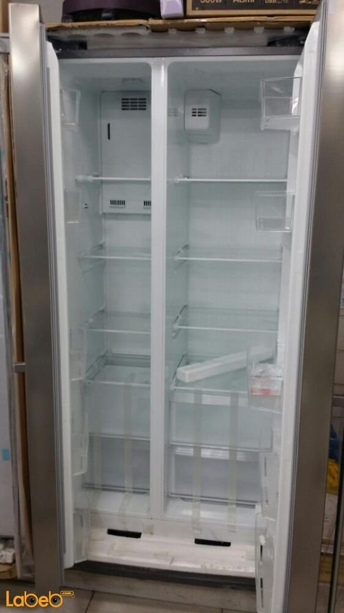 Midea Side by Side Refrigerator inside 537L Stainless HC-689WE(N)S