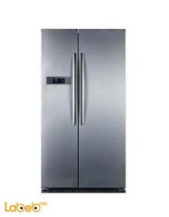 Midea Side by Side Refrigerator - 537L - Stainless - HC-689WE(N)S