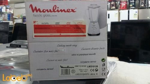 Moulinex faciclic glass blender LM310128