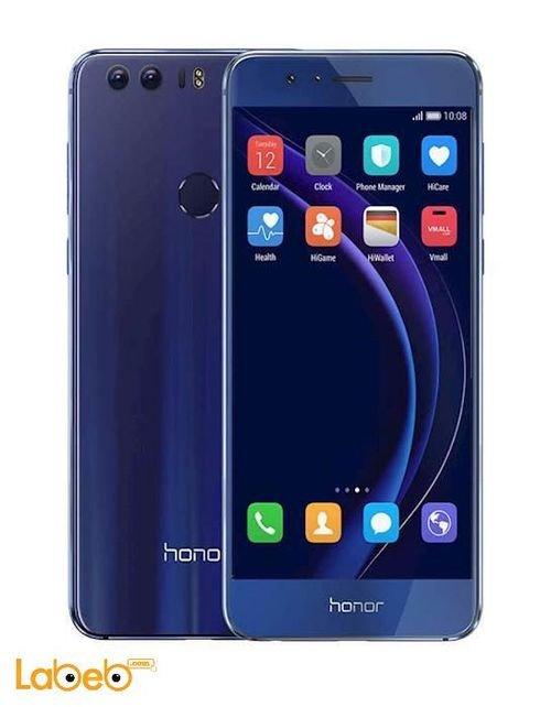 موبايل هواوي هونور 8 ذاكرة 32 جيجابايت 5.2 انش لون أزرق